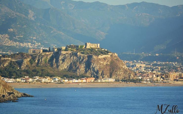 Vista del Castello di Milazzo